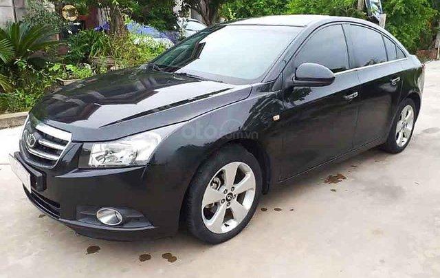Bán Daewoo Lacetti năm sản xuất 2012, màu đen, xe nhập còn mới, giá 268tr0