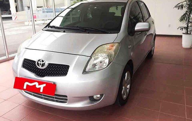 Bán ô tô Toyota Yaris năm sản xuất 2008, màu bạc, nhập khẩu nguyên chiếc còn mới, giá chỉ 310 triệu0
