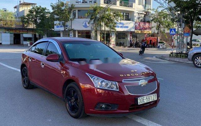 Cần bán lại xe Chevrolet Cruze đời 2012, màu đỏ chính chủ0