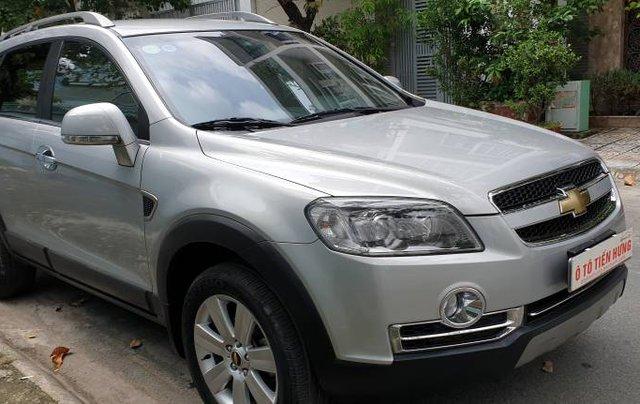 Bán xe Chevrolet Captiva sản xuất năm 2009, màu bạc còn mới giá cạnh tranh18
