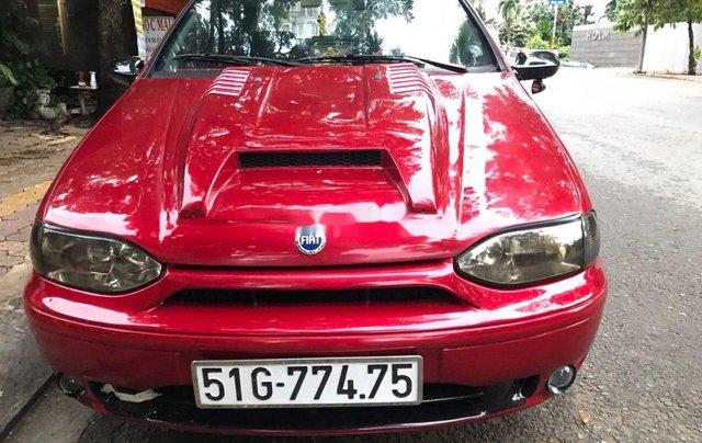 Bán Fiat Siena sản xuất 2001, màu đỏ, xe nhập5
