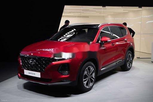 Bán Hyundai Santa Fe máy xăng cao cấp năm sản xuất 2020, giao nhanh1