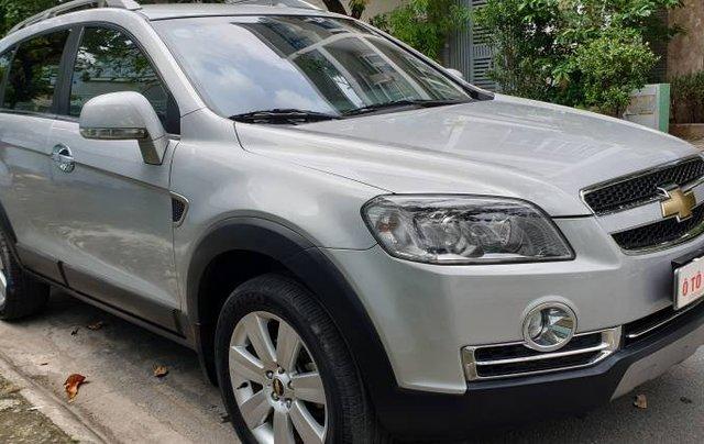 Bán xe Chevrolet Captiva sản xuất năm 2009, màu bạc còn mới giá cạnh tranh0