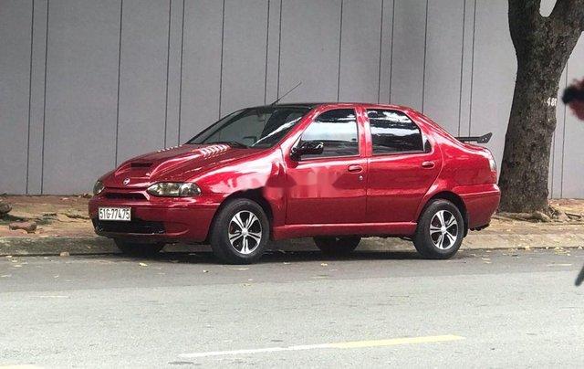 Bán Fiat Siena sản xuất 2001, màu đỏ, xe nhập0