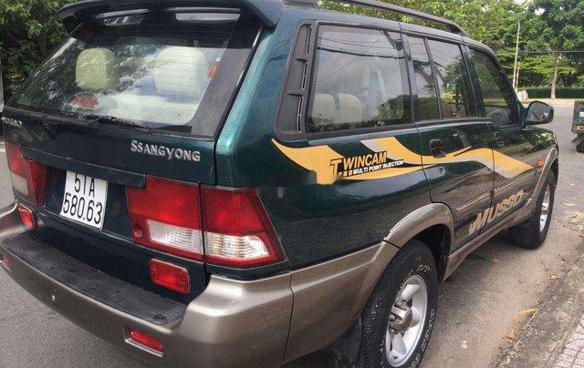 Cần bán xe Ssangyong Musso đời 2003, xe nhập11