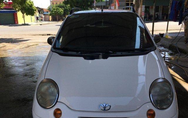 Cần bán gấp Daewoo Matiz năm sản xuất 2007, màu trắng0