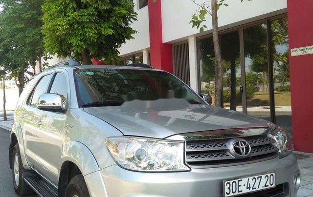 Bán Toyota Fortuner năm 2009, xe chính chủ giá mềm, động cơ ổn định0