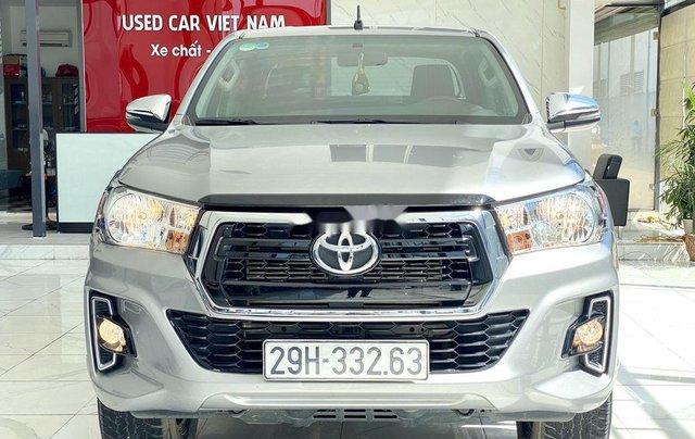 Bán ô tô Toyota Hilux sản xuất năm 2019, màu bạc, xe nhập 0
