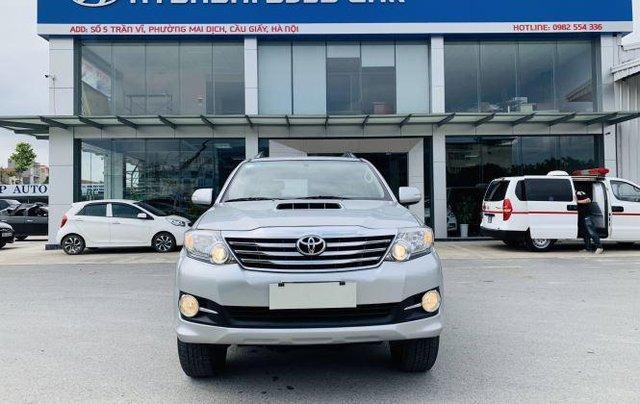 Bán Toyota Fortuner sản xuất năm 2016, màu bạc 0