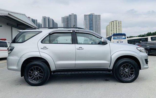Bán Toyota Fortuner sản xuất năm 2016, màu bạc 5