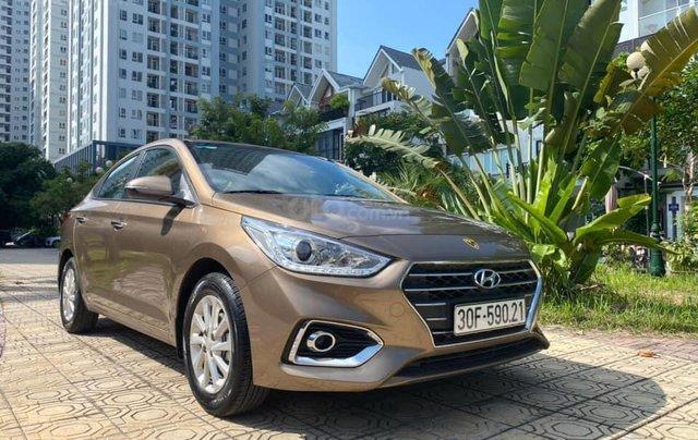 Cần bán gấp chiếc Hyundai Accent 1.4AT sản xuất năm 2019, chính chủ chạy ít3