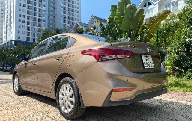 Cần bán gấp chiếc Hyundai Accent 1.4AT sản xuất năm 2019, chính chủ chạy ít4
