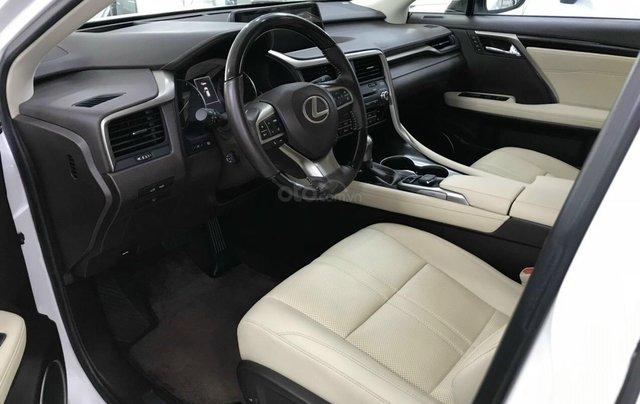 Bán RX350 model 2016 mẫu mới, trắng nội thất kem xe đẹp đi 34.000, cam kết chất lượng bao check hãng3