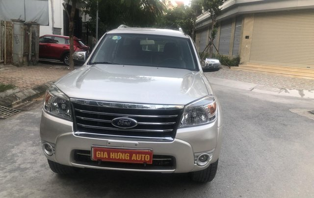 Gia Hưng Auto bán xe Ford Everest 2009, số tự động, phom mới 2010, máy dầu0