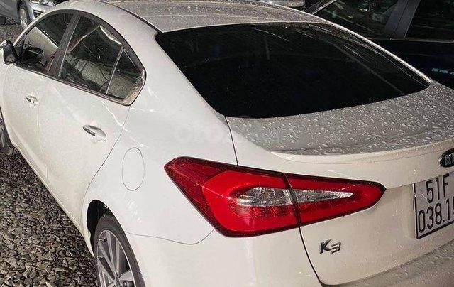 Bán xe Kia K3 SX 2014, màu trắng, bản 2.0 full option2