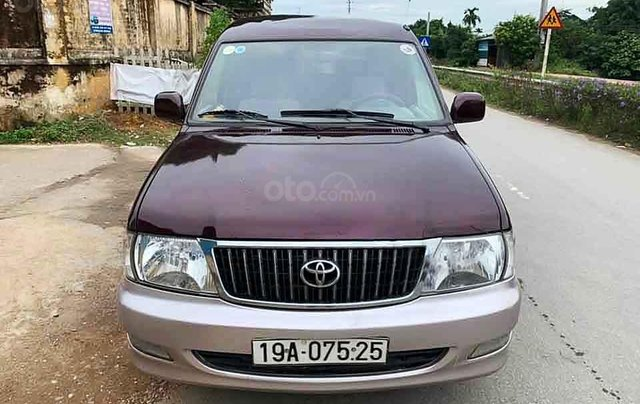 Cần bán gấp Toyota Zace 1.8 GL năm sản xuất 2003 chính chủ, giá 153tr4