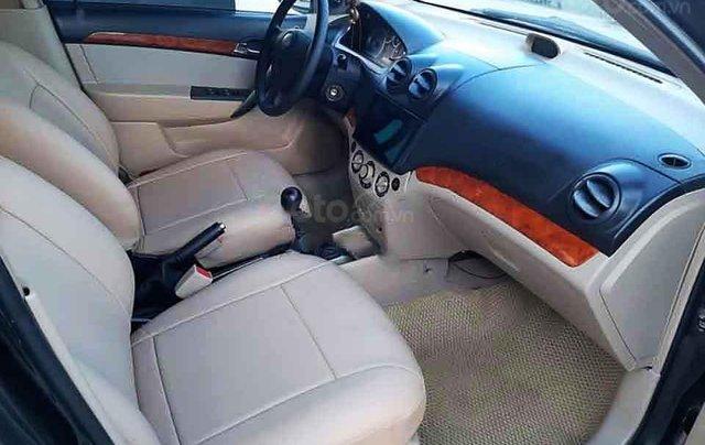 Cần bán lại xe Daewoo Gentra đời 2009, màu đen, 165 triệu1