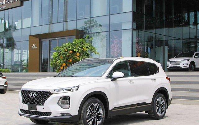Hyundai Santa Fe ưu đãi lên tới 45 triệu đồng, giá xe tốt nhất tháng 10/2020, xe đủ màu, đủ phiên bản, giao ngay1