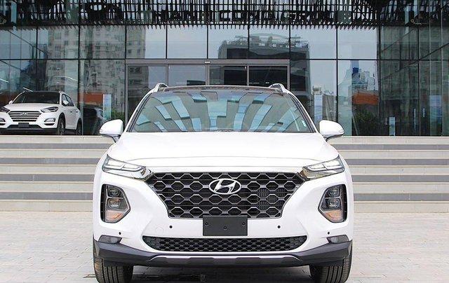 Hyundai Santa Fe ưu đãi lên tới 45 triệu đồng, giá xe tốt nhất tháng 10/2020, xe đủ màu, đủ phiên bản, giao ngay0