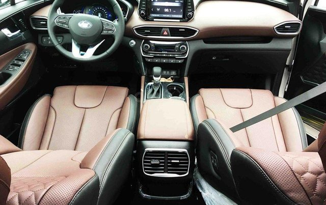 Hyundai Santa Fe ưu đãi lên tới 45 triệu đồng, giá xe tốt nhất tháng 10/2020, xe đủ màu, đủ phiên bản, giao ngay5