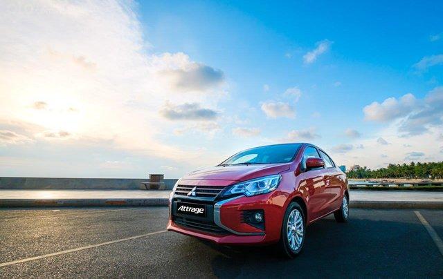Mitsubishi Attrage CVT sản xuất năm 2020, giao nhanh, khuyến mãi cực khủng - Liên hệ để được giá tốt0