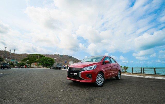 Mitsubishi Attrage CVT sản xuất năm 2020, giao nhanh, khuyến mãi cực khủng - Liên hệ để được giá tốt5