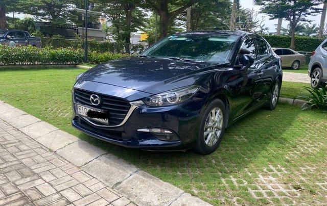 Bán xe Mazda 3 sản xuất 2018, màu xanh lam còn mới, giá tốt 579 triệu đồng0