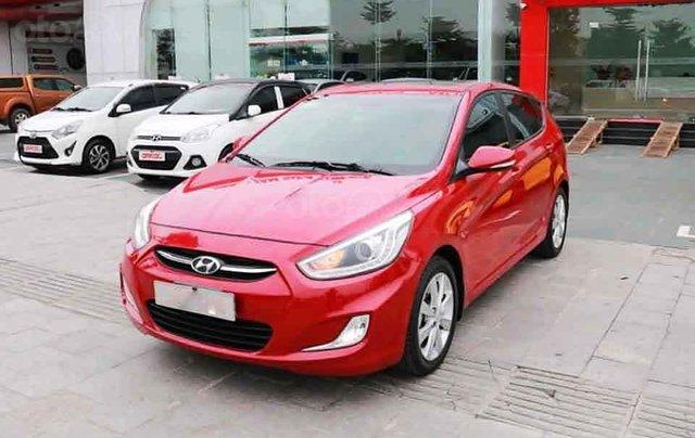Cần bán lại xe Hyundai Accent Blue năm sản xuất 2015, màu đỏ, nhập khẩu Hàn Quốc chính chủ giá cạnh tranh0