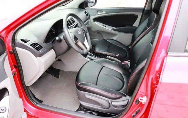 Cần bán lại xe Hyundai Accent Blue năm sản xuất 2015, màu đỏ, nhập khẩu Hàn Quốc chính chủ giá cạnh tranh1