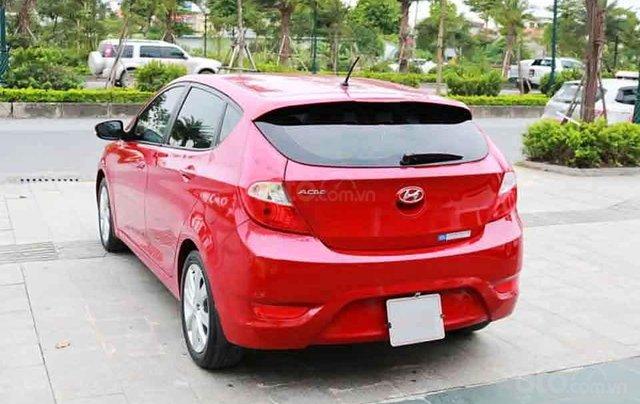 Cần bán lại xe Hyundai Accent Blue năm sản xuất 2015, màu đỏ, nhập khẩu Hàn Quốc chính chủ giá cạnh tranh2