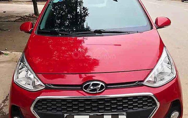 Cần bán xe Hyundai Grand i10 năm sản xuất 2018, màu đỏ giá cạnh tranh0