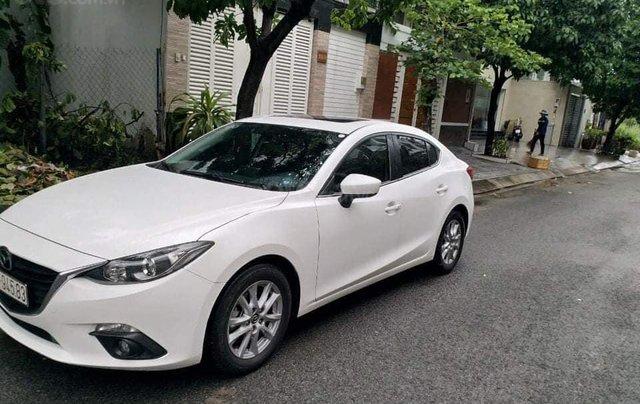 Bán Mazda 3 2016 1.5AT biển Sài Gòn, màu trắng0