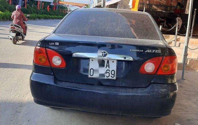 Cần bán gấp Toyota Corolla Altis sản xuất năm 2003, màu xanh lam, giá 125tr1