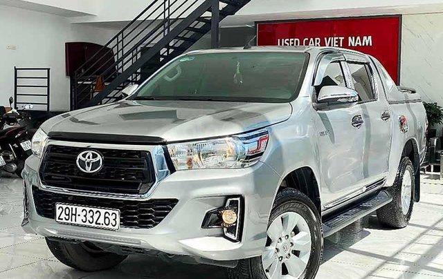 Bán Toyota Hilux đời 2019, màu bạc, nhập khẩu nguyên chiếc còn mới giá cạnh tranh0
