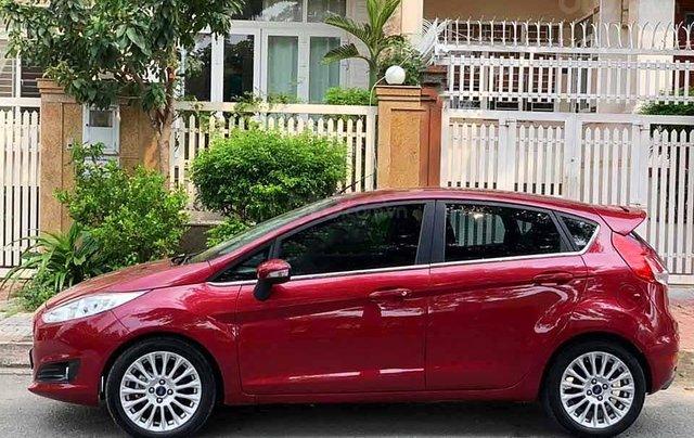 Bán ô tô Ford Fiesta Sport năm 2017, màu đỏ, giá chỉ 420 triệu0