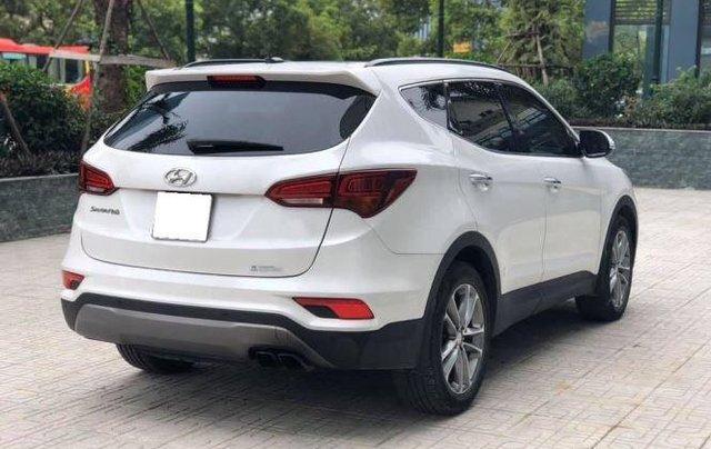Bán xe Hyundai Santa Fe đời 2019, màu trắng1