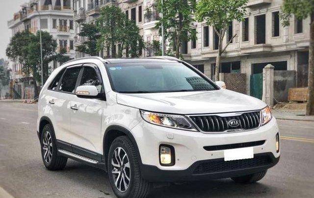 Bán xe Kia Sorento DATH năm sản xuất 2019, màu trắng số tự động  1