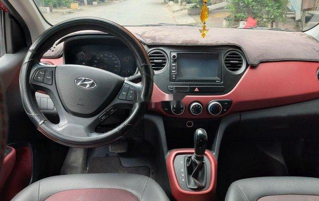 Cần bán xe Hyundai Grand i10 2018, màu đỏ, xe gia đình5