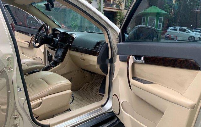 Chính chủ bán lại xe Chevrolet Captiva đời 2009, màu vàng cát9