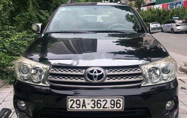 Bán xe Toyota Fortuner năm 2011, màu đen0