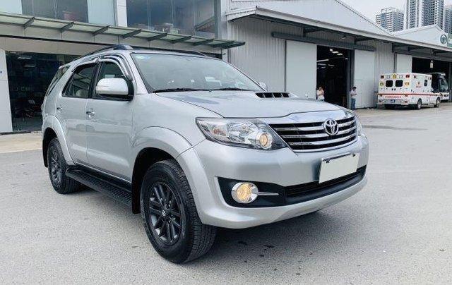 Bán Toyota Fortuner sản xuất năm 2016, màu bạc 1