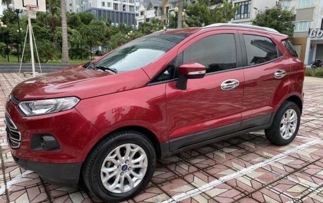 Xe Ford EcoSport 1.5L AT Titanium sản xuất 2016, màu đỏ0