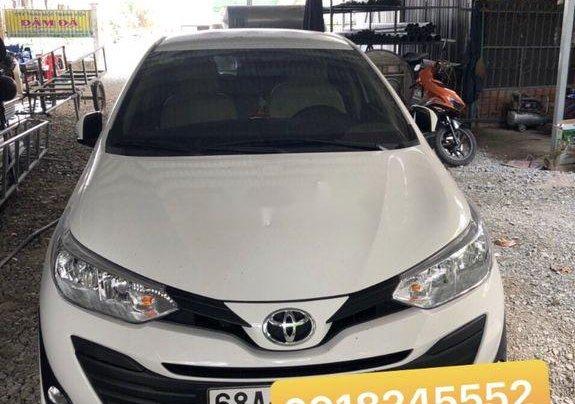 Bán Toyota Vios sản xuất năm 2019, màu trắng, số tự động, 468tr0