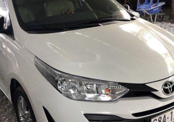 Bán Toyota Vios sản xuất năm 2019, màu trắng, số tự động, 468tr2