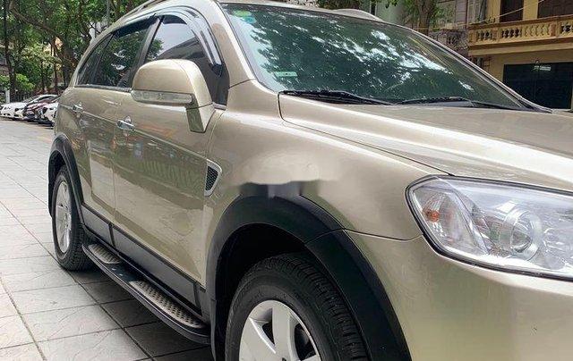 Chính chủ bán lại xe Chevrolet Captiva đời 2009, màu vàng cát4