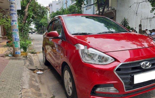 Cần bán xe Hyundai Grand i10 2018, màu đỏ, xe gia đình1