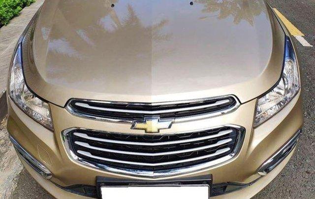 Bán Chevrolet Cruze LTZ 2017 màu Vàng chính chủ như mới0