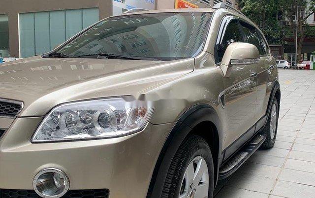 Chính chủ bán lại xe Chevrolet Captiva đời 2009, màu vàng cát6