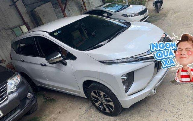 Bán xe Mitsubishi Xpander 1.5 AT sản xuất năm 2019, màu trắng, nhập khẩu 0