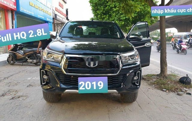 Bán Toyota Hilux đời 2019, màu đen, nhập khẩu nguyên chiếc, giá chỉ 859 triệu0